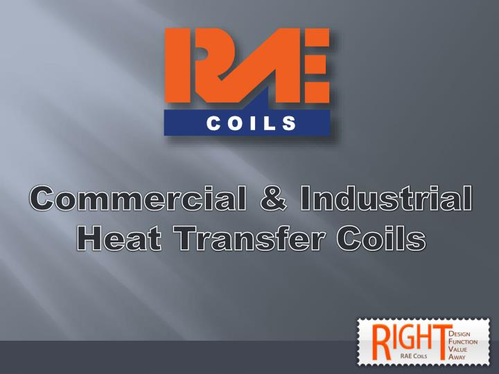 Commercial & Industrial Heat Transfer Coils