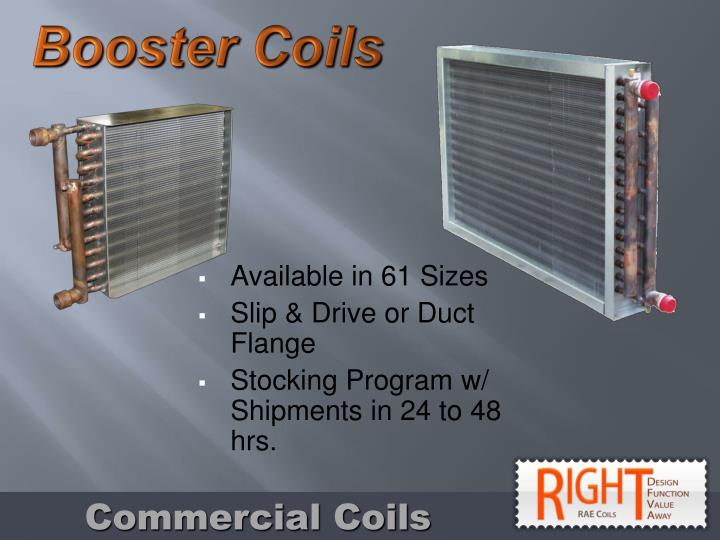 Booster Coils