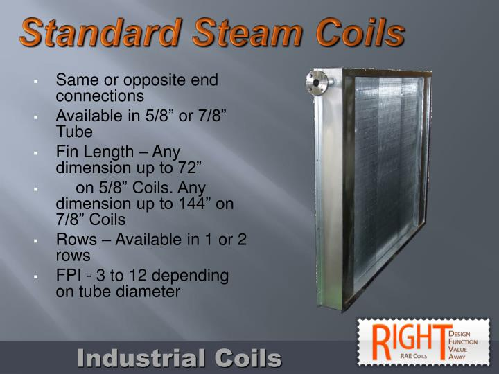 Standard Steam Coils
