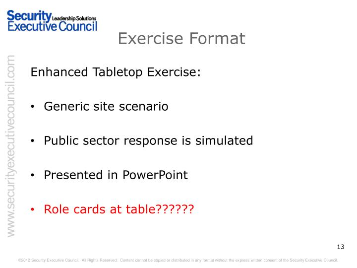 Ppt Active Shooter Tabletop Exercise Powerpoint