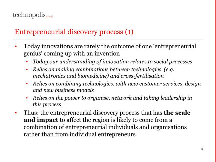 Entrepreneurial discovery process (1)