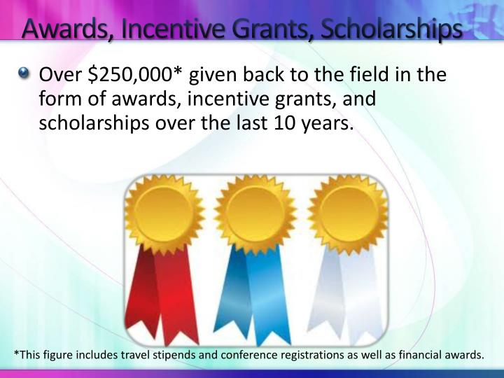 Awards, Incentive Grants, Scholarships