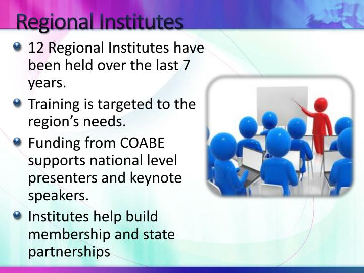 Regional Institutes