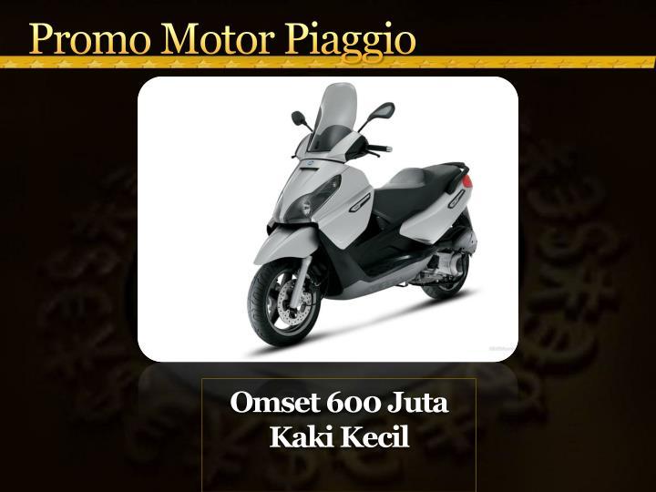 Promo Motor Piaggio
