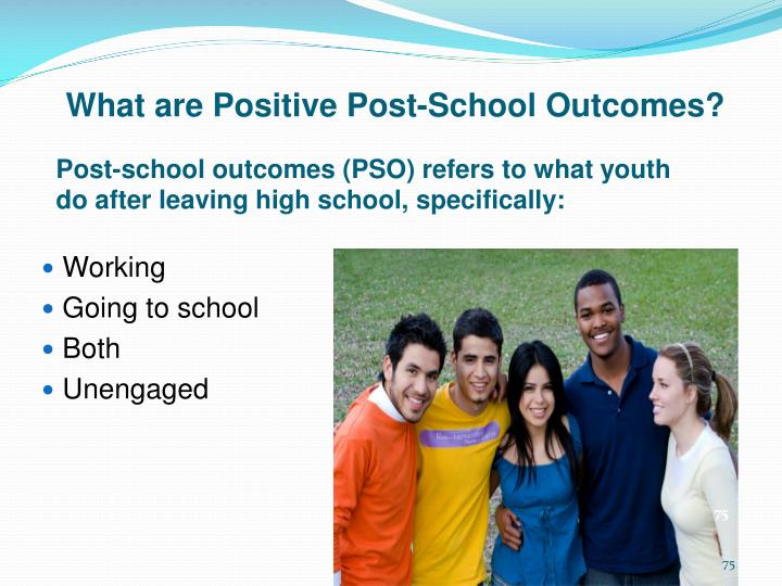 What are Positive Post-School Outcomes?