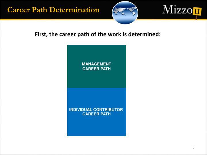 Career Path Determination