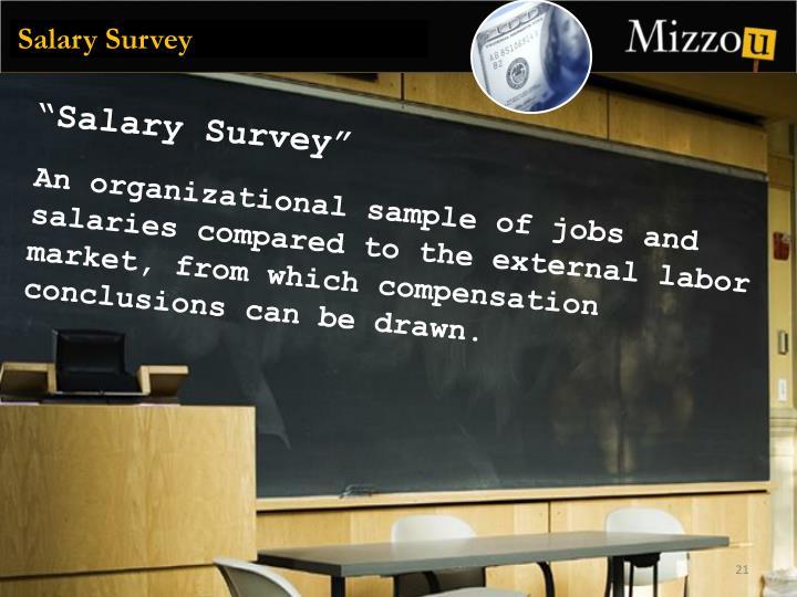 Salary Survey