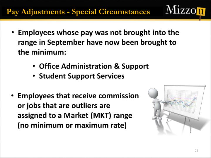 Pay Adjustments - Special Circumstances