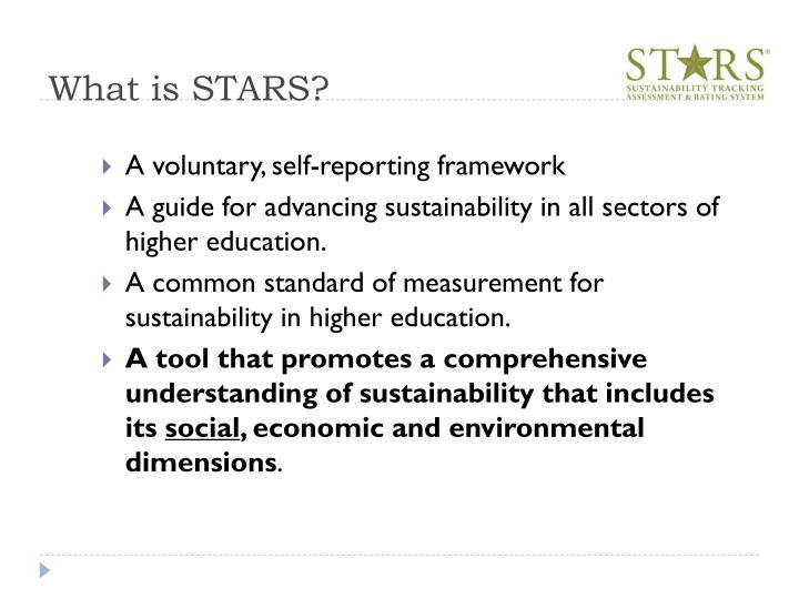 What is STARS?