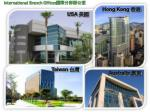 international branch offices