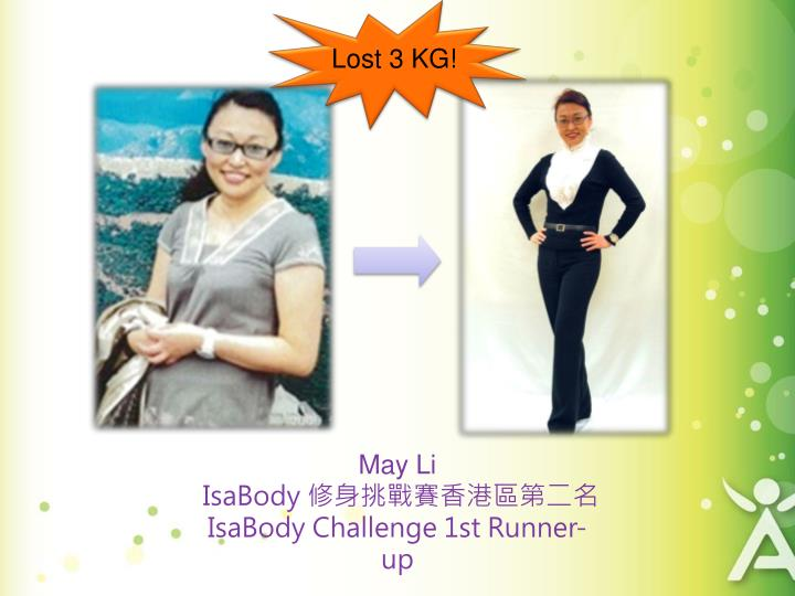 Lost 3 KG!