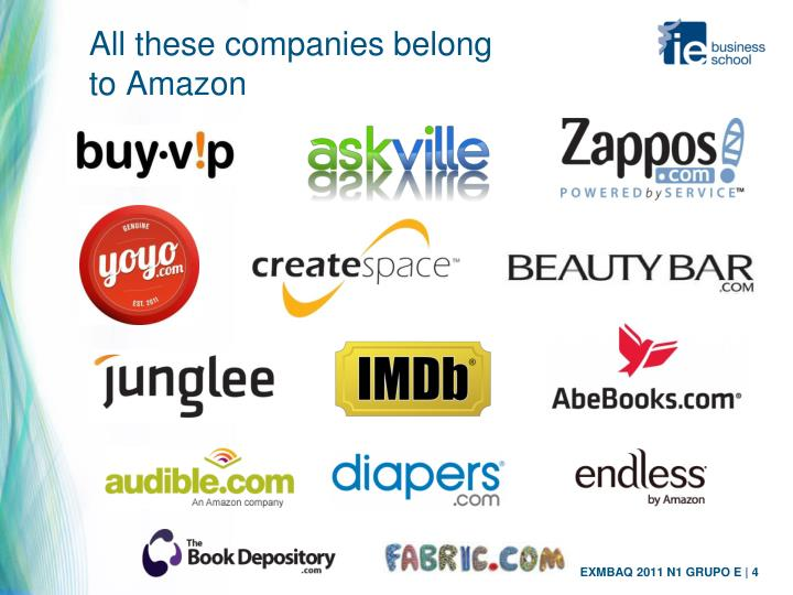 All these companies belong