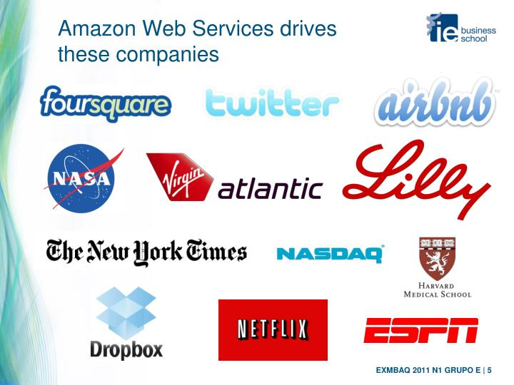 Amazon Web Services drives