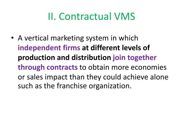 II. Contractual VMS