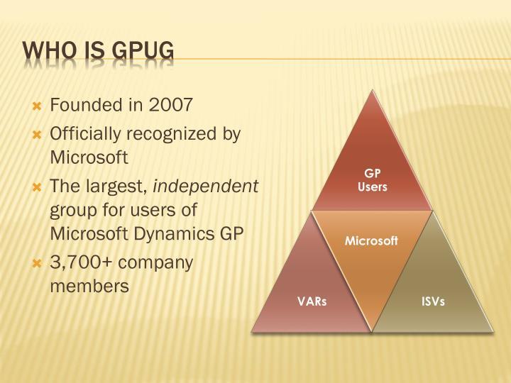 Who is GPUG
