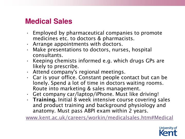 Medical Sales
