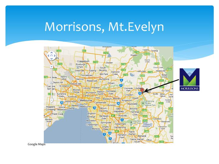 Morrisons, Mt.Evelyn