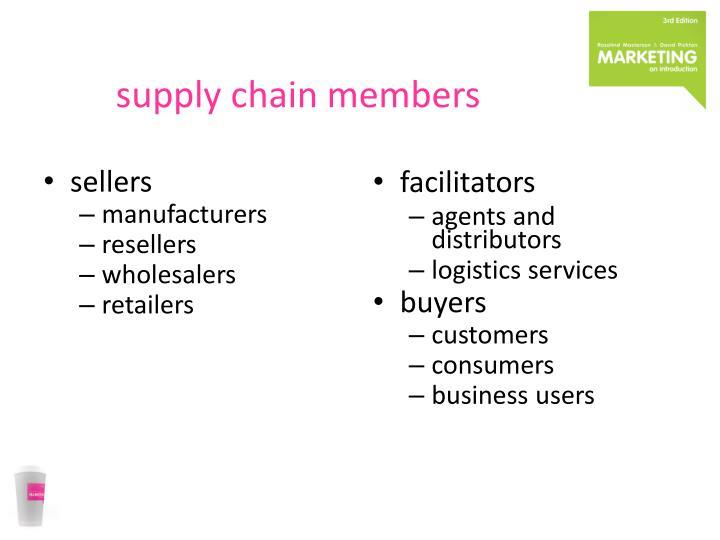 supply chain members