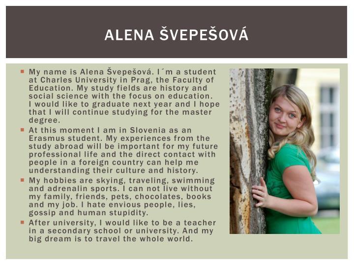 Alena Švepešová