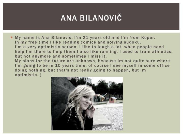 Ana Bilanovič