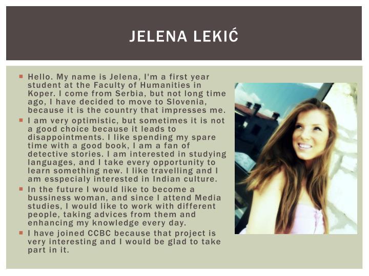 Jelena Lekić