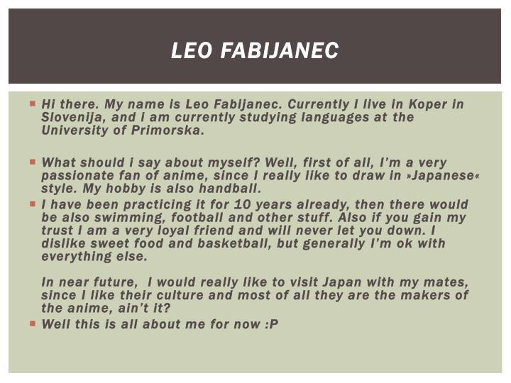 Leo Fabijanec