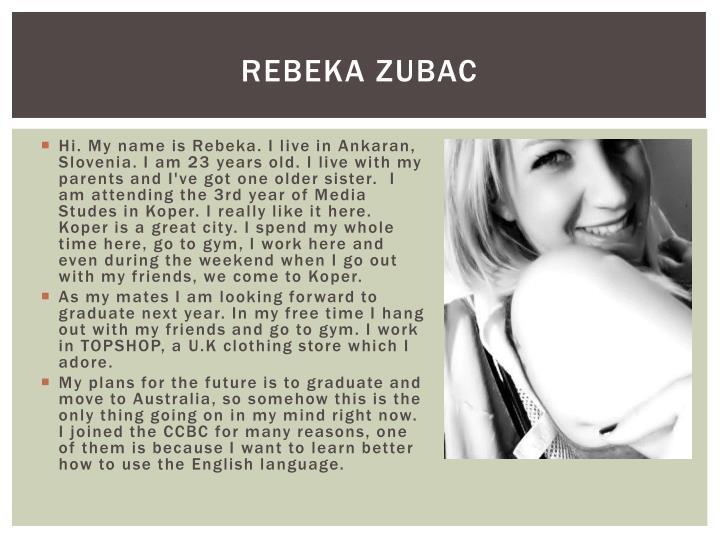 Rebeka zubac