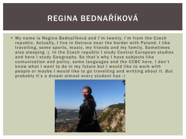 Regina Bednaříková