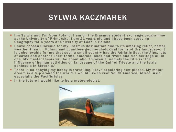 Sylwia Kaczmarek