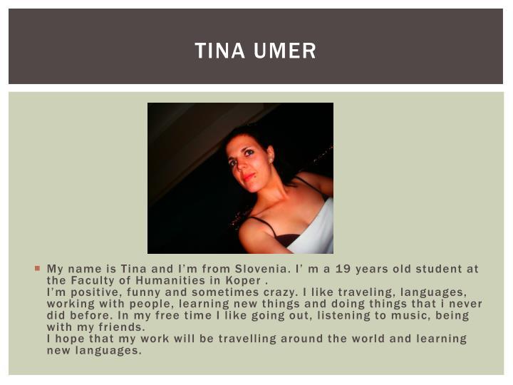Tina umer
