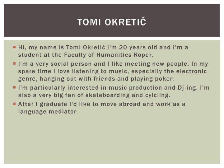 Tomi Okretič