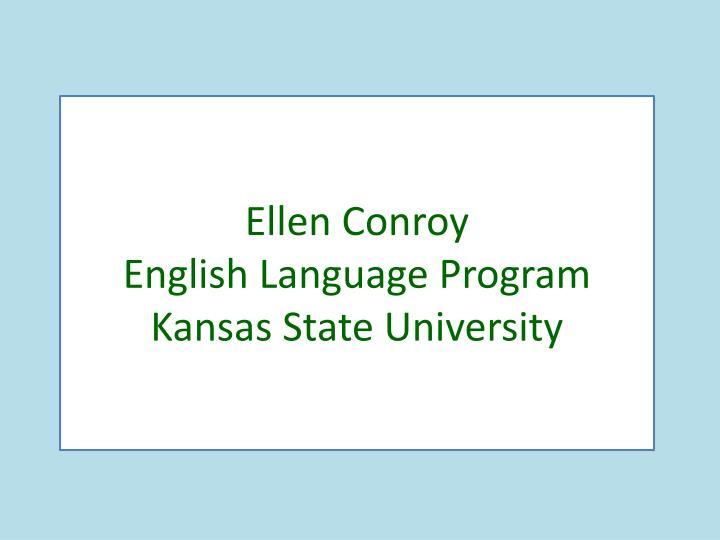 Ellen Conroy