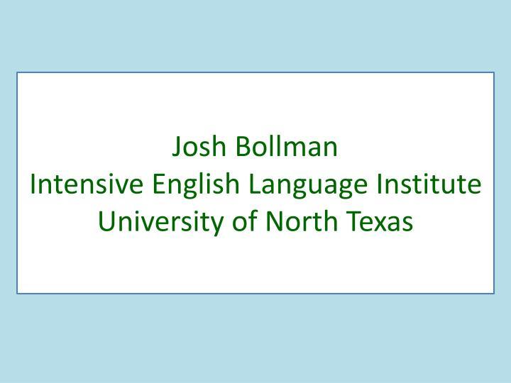 Josh Bollman
