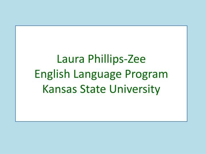 Laura Phillips-Zee