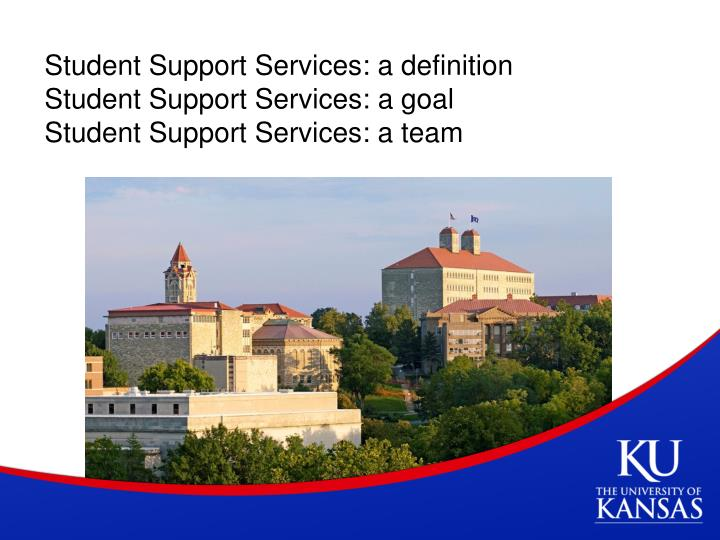 Student Support Services: a definition