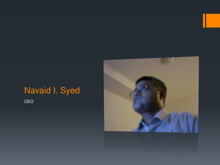Navaid I. Syed