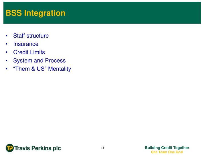 BSS Integration