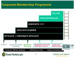 corporate membership programme