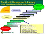 the credit management journey credit management roadmap to improvement4