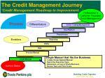 the credit management journey credit management roadmap to improvement5