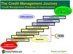 the credit management journey credit management roadmap to improvement8