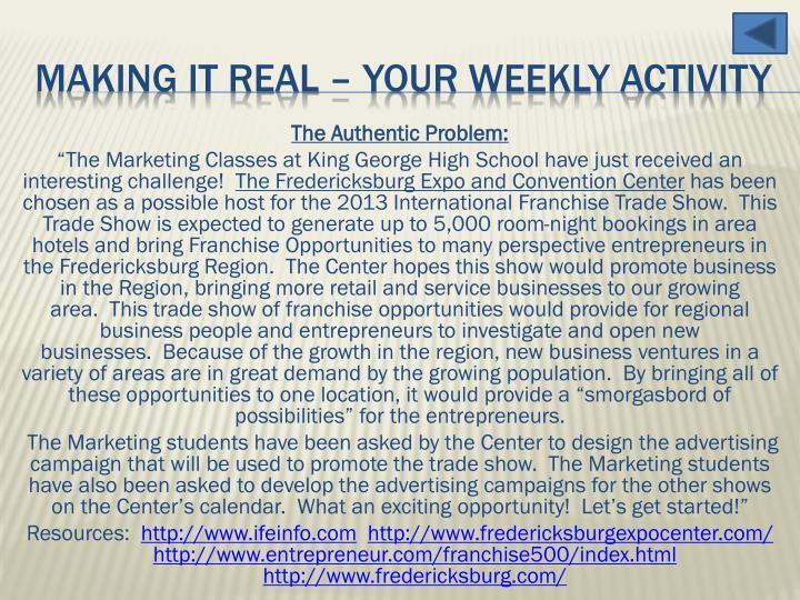The Authentic Problem: