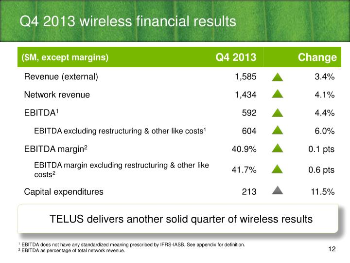Q4 2013 wireless financial results