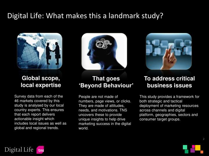Digital life what makes this a landmark study