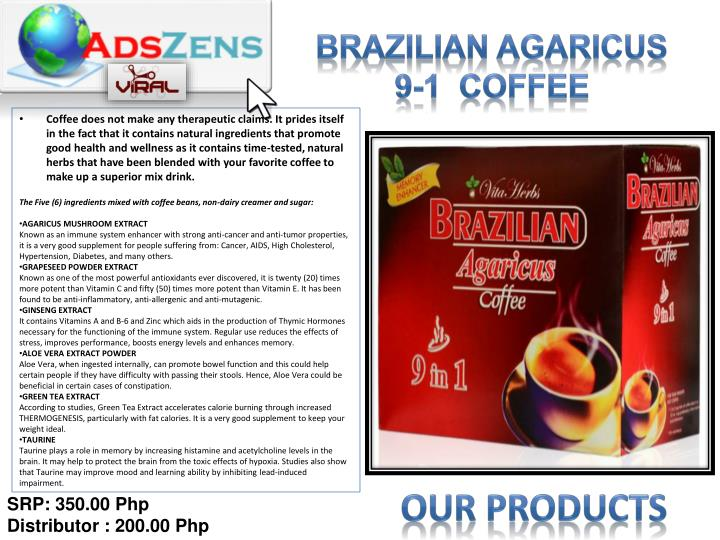 Brazilian AGARICUS