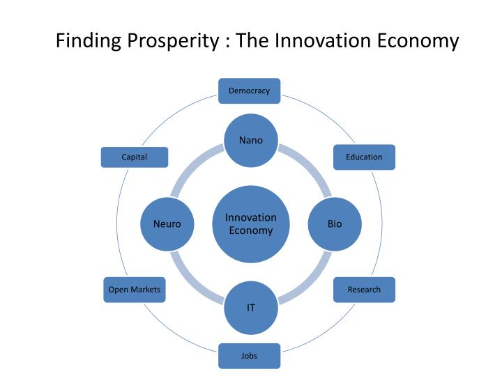 Finding Prosperity : The Innovation Economy