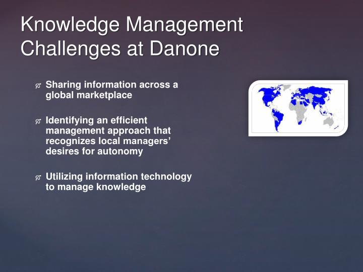 Global Knowledge Management at Danone (A), Spanish Version Case Solution & Answer