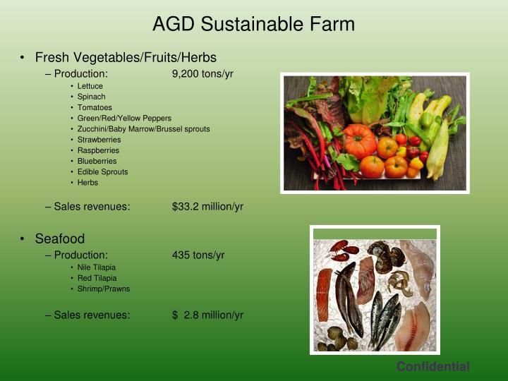 Fresh Vegetables/Fruits/Herbs