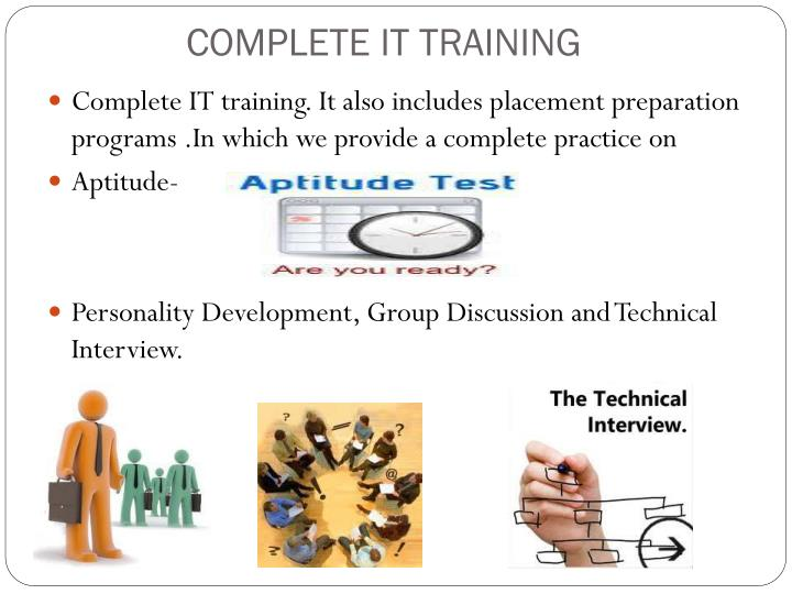 COMPLETE IT TRAINING