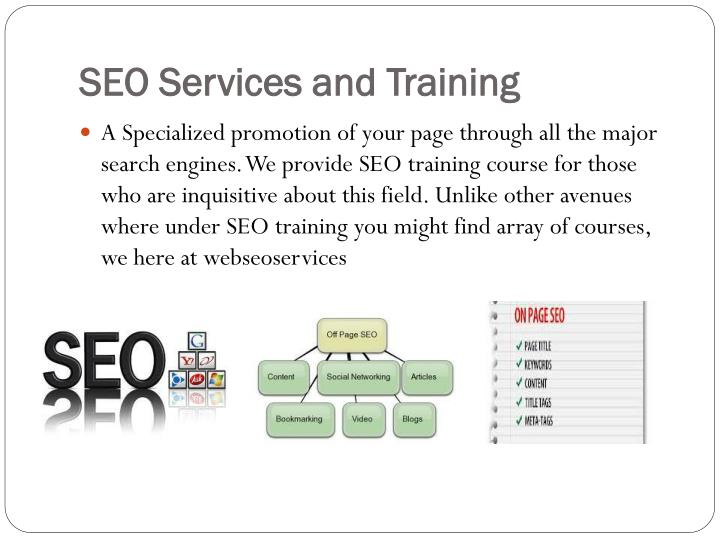 SEO Services and Training